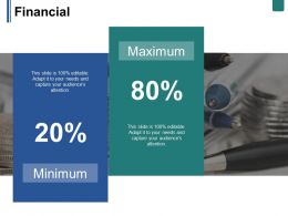 Financial Ppt Summary Gridlines