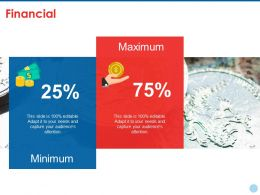 Financial Ppt Summary Infographics