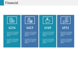 Financial Ppt Summary Information