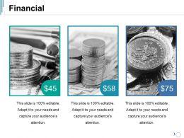 Financial Ppt Summary Vector