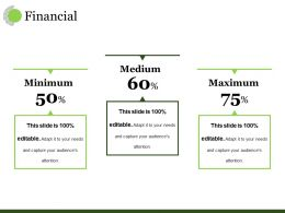 Financial Ppt Visual Aids Ideas