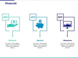 Financial Ppt Visual Aids Infographic Template