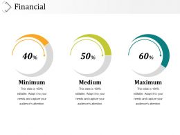 Financial Presentation Powerpoint Example