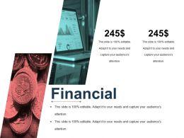 Financial Presentation Powerpoint Templates