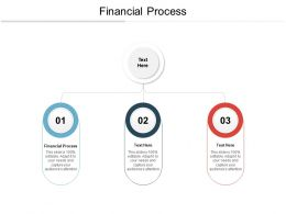 Financial Process Ppt Powerpoint Presentation Infographics Files Cpb