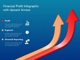Financial Profit Infographic With Upward Arrows