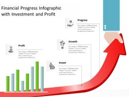 Financial Progress Infographic With Investment And Profit