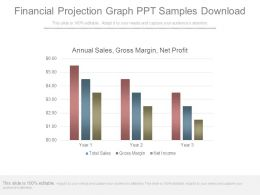 Financial Projection Graph Ppt Samples Download
