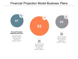 Financial Projection Model Business Plans Ppt Powerpoint Presentation File Gridlines Cpb