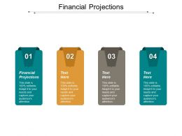 Financial Projections Ppt Powerpoint Presentation Gallery Demonstration Cpb