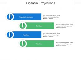 Financial Projections Ppt Powerpoint Presentation Outline Gallery Cpb