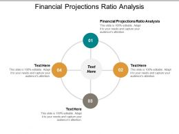 Financial Projections Ratio Analysis Ppt Powerpoint Presentation Gallery Clipart Images Cpb