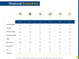 Financial Projections Total Expenses Ppt Powerpoint Presentation Infographic Template Professional