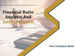 Financial Ratio Analysis And Interpretation Powerpoint Presentation Slides