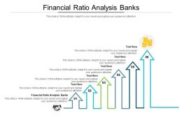 Financial Ratio Analysis Banks Ppt Powerpoint Presentation Icon Structure Cpb