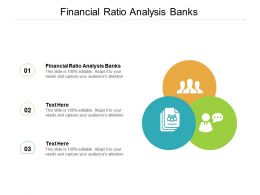 Financial Ratio Analysis Banks Ppt Powerpoint Presentation Summary Icon Cpb