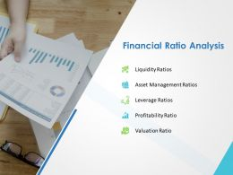 Financial Ratio Analysis Slide Ppt Powerpoint Presentation Visual Aids Portfolio