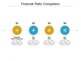 Financial Ratio Comparison Ppt Powerpoint Presentation Layouts Outline Cpb
