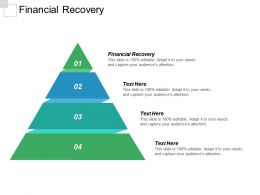 Financial Recovery Ppt Powerpoint Presentation Outline Outfit Cpb