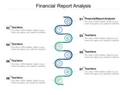 Financial Report Analysis Ppt Powerpoint Presentation Model Master Slide Cpb