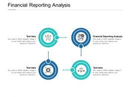 Financial Reporting Analysis Ppt Powerpoint Presentation Inspiration Display Cpb