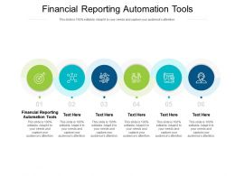 Financial Reporting Automation Tools Ppt Powerpoint Presentation Template Cpb