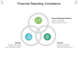 Financial Reporting Compliance Ppt Powerpoint Presentation Professional Background Images Cpb
