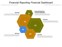 Financial Reporting Financial Dashboard Ppt Powerpoint Presentation Show Format Cpb