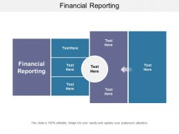 Financial Reporting Ppt Powerpoint Presentation Show Images Cpb