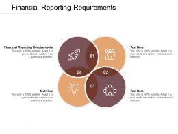 Financial Reporting Requirements Ppt Powerpoint Presentation Inspiration Designs Download Cpb