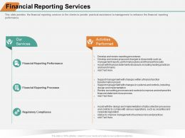 Financial Reporting Services Risks Data Ppt Powerpoint Presentation Show Good