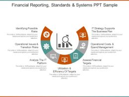 Financial Reporting Standards And Systems Ppt Sample