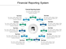 Financial Reporting System Ppt Powerpoint Presentation Portfolio Summary Cpb