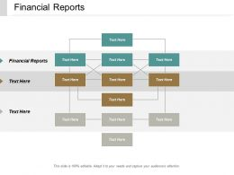 Financial Reports Ppt Powerpoint Presentation File Example Topics Cpb