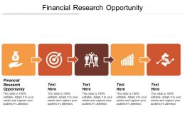 Financial Research Opportunity Ppt Powerpoint Presentation File Brochure Cpb