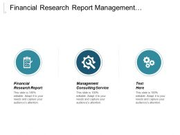 Financial Research Report Management Consulting Service Credit Risk Modeling Cpb