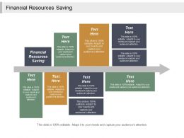Financial Resources Saving Ppt Powerpoint Presentation Gallery Samples Cpb