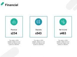 Financial Revenue H77 Ppt Powerpoint Presentation Portfolio Format