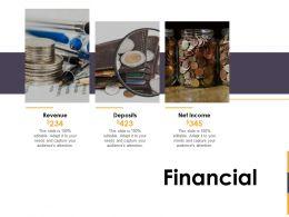 Financial Revenue L1395 Ppt Powerpoint Presentation Model Slide
