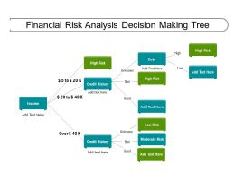 Financial Risk Analysis Decision Making Tree