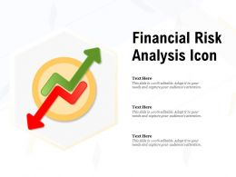 Financial Risk Analysis Icon