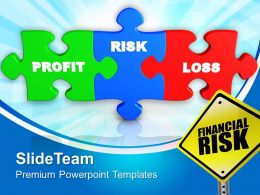 Financial Risk Business Powerpoint Templates Ppt Themes And Graphics 0113