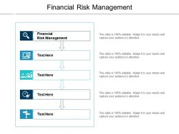 Financial Risk Management Ppt Powerpoint Presentation Portfolio Graphics Download Cpb