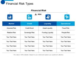 Financial Risk Types Credit Ppt Styles Design Inspiration