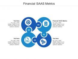 Financial SAAS Metrics Ppt Powerpoint Presentation Portfolio Designs Cpb