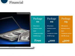 Financial Sample Ppt Presentation