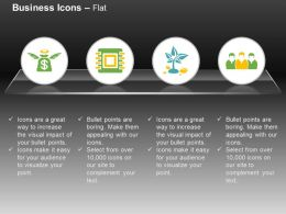 Financial Saving Microchip Growth Team Ppt Icons Graphic