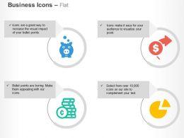 Financial Saving Money Growth Data Analysis Ppt Icons Graphics
