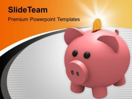 Financial Savings Business Account Powerpoint Templates Ppt Themes And Graphics 0313