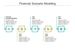 Financial Scenario Modeling Ppt Powerpoint Presentation Gallery Templates Cpb